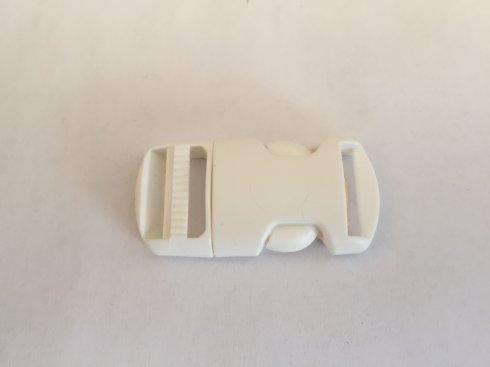 trojzubec 16mm-přezka dělitelná UH bílá