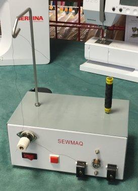 elektrický automatický navíječ cívek,na malé cívky do cívkových pouzder