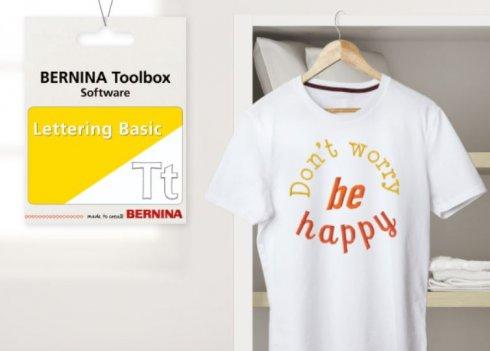 software Bernina Toolbox Lettering - nápisy základ
