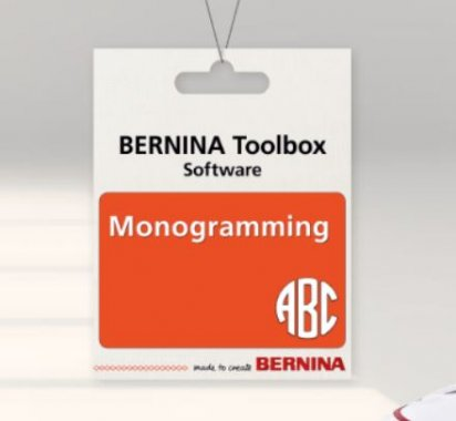 software Bernina Toolbox Monogramy