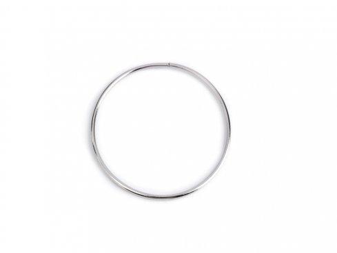 pro lapač snů kovový kruh 10cm nikl