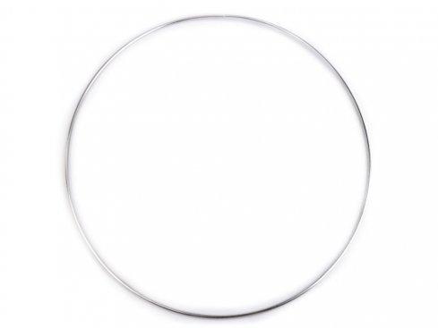pro lapač snů kovový kruh 30cm nikl