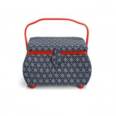 kazeta - košík na šicí potřeby L Kyoto