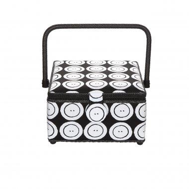 kazeta - košík na šicí potřeby M knoflíky