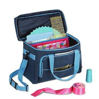 cestovní taška na šicí stroj-patchwork 44x20x35cm