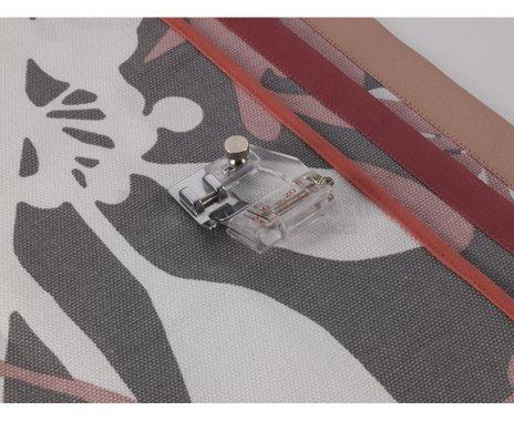 Nastavitelný zakladač pro lemování sežehleným šikmým proužkem od 5-20mm