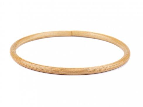 ucha na tašky bambus/lapač snů 15cm 1ks