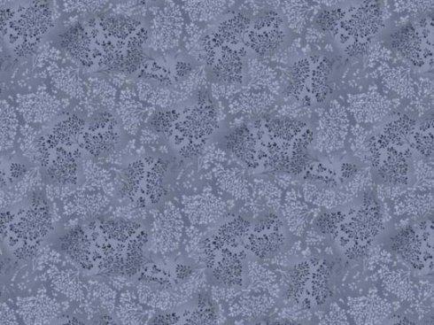 látka 140cm šíře/100%bavlna bylinky tm.modrá