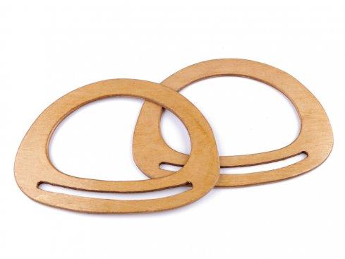 ucha na tašky dřevo 13,5cmx14,5cm
