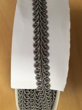 prýmek šíře 10mm/balení 25m šedý