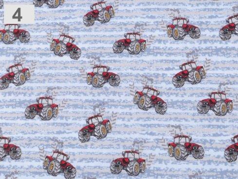 Bavlněná látka antibakteriální s částicemi stříbra pro šití roušek,  Gramáž: 153 g/m2 Šíře: 155 cm