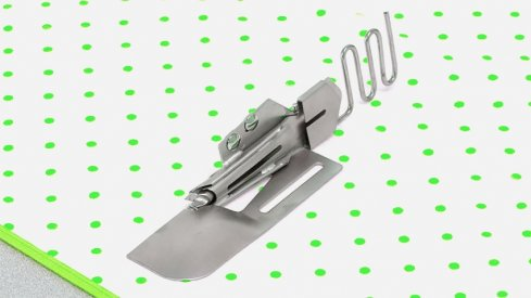Aplikátor šikmého proužku na dvojito 36 mm - Babylock Cover Stitch
