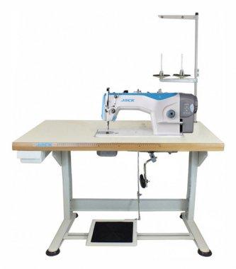 Jack JK-Shirley IIE 1-jehlov šicí stroj s odstřihem, střednětěžké materiály-plná výbava