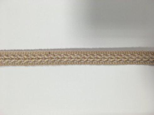 prýmek čalounický rayon 14mm béžová