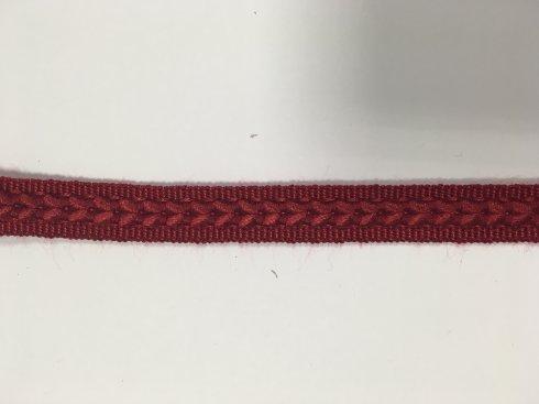 prýmek čalounický rayon 14mm tm.červená