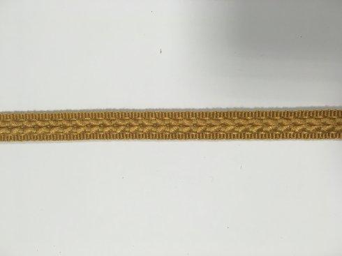 prýmek čalounický rayon 14mm žluto-zlatá