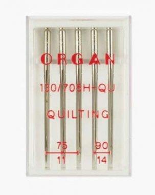 jehly Organ quiltovací 130/705H H-QU 75-90 5ks