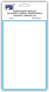 záplata nažehlovací bílá 100%Bavlna 43x20cm