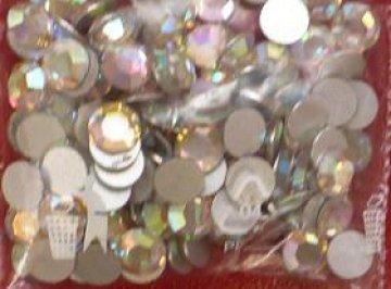 5mm nalepovací kamínky broušené AB-