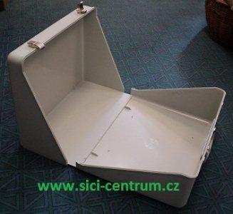 kufr pevný univerzální na všechny nové š.stroje s volným ramenem-