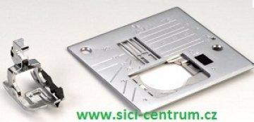 stehová deska a patka s vodičem pravá 1/4 inch pro Janome 6600