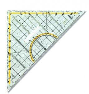 trojúhelník textilní - patchwork