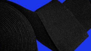 guma 70mm černá/bílá opasková