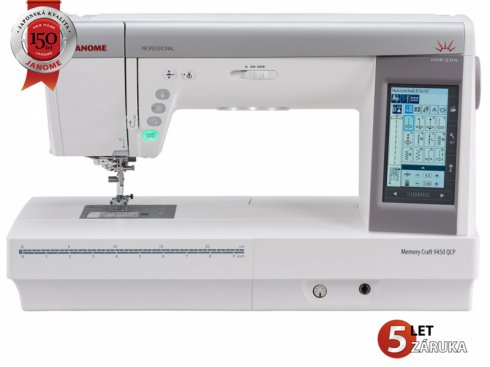 šicí stroj Janome MC 9450 QCP + dárek