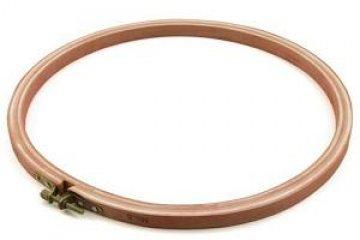 vyšívací rám dřevěný kulatý - 10cm