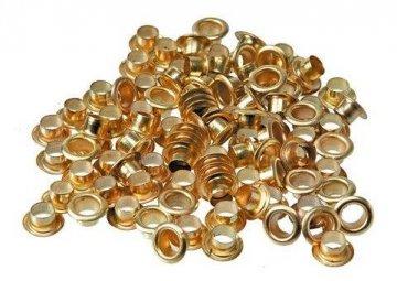 průchodky 4,8 zlaté/stříbrné 200ks