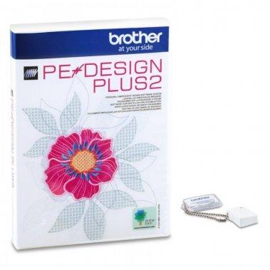 vyšívací software Brother PeDesign Plus 2, s vyšívacím strojem sleva 50%