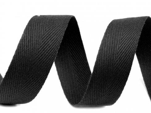 tkaloun keprovka černá 20mm