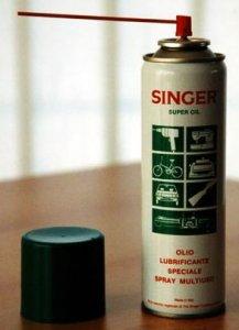 olej ve spreji-SINGER 250ml+brčko