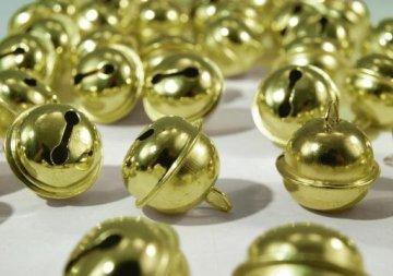 rolnička s kroužkem 20mm nikl,zlato
