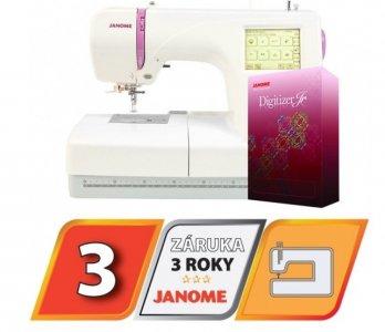 vyšívací stroj Janome MC 350 E + vyšívací software Janome Jr. ZDARMA
