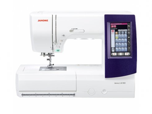 šicí a vyšívací stroj Janome MC 9900 + vyšívací software Janome Jr. ZDARMA