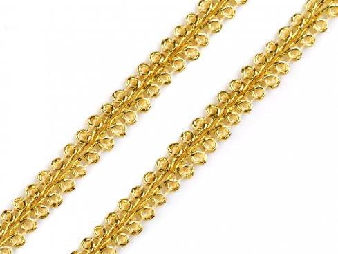 prýmek leonský 7mm zlatý/stříbrný