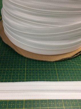 zdrhovadlový pás WS0/vel.3mm bílý