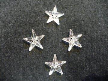 štrasové kameny našívací - hvězda