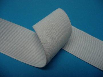 guma prádlová šíře 50mm režná bílá