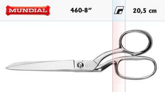 krejčovské nůžky Mundial clasic 20,5cm-