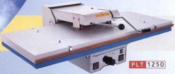 průmyslový žehlící lis PL/T1250 125x50cm - mechanické pákové zavírání