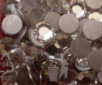 6mm nalepovací kamínky broušené MC-