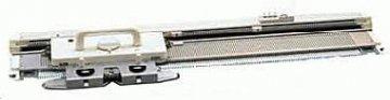 pletací stroj jednolůžkový Novaknit-Brother KH-160-manuální vzorování s intarsia funkcemi 168jehel , odstup 6mm , síla příze 2-4,5