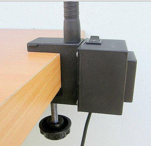 halogenová lampa obuvnická s trafem OS-T65 12V/20W-