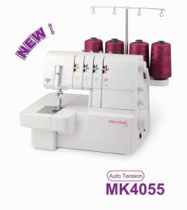 coverlock Merrylock MK 4055 + sada 3 patek ZDARMA