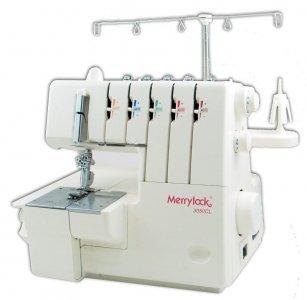 overlock a coverlock Merrylock MK 3050CL + sada kvalitních jehel Organ ZDARMA