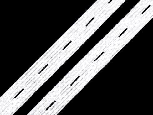 guma dirková 25mm bílá