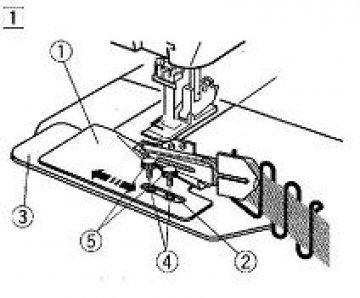 patka na všívání pásků 12-42mm Janome 795844009-