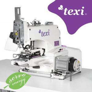 Knoflíkovací šicí stroj Texi X Premium EX